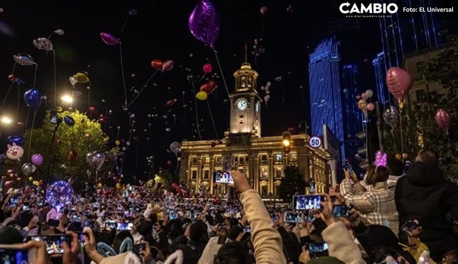"""Wuhan, la """"cuna"""" del coronavirus, recibe el año con tremendo fiestón"""