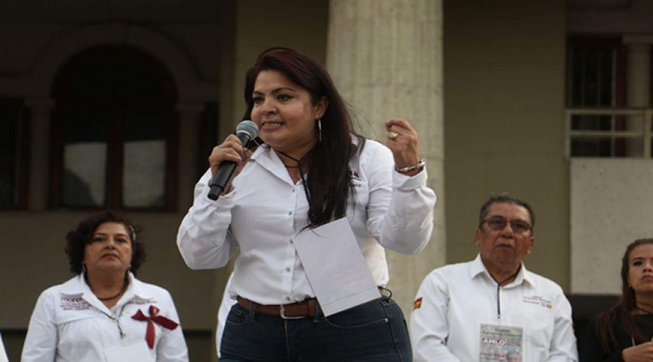 Nestora Salgado diputada de Morena se encuentra grave por Covid