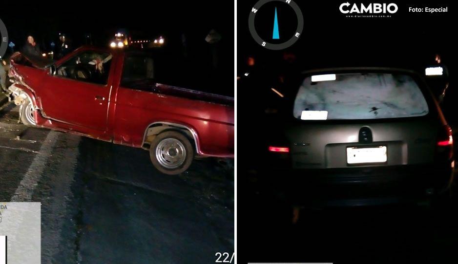Borracho al volante choca contra familia y la deja lesionada en El Seco