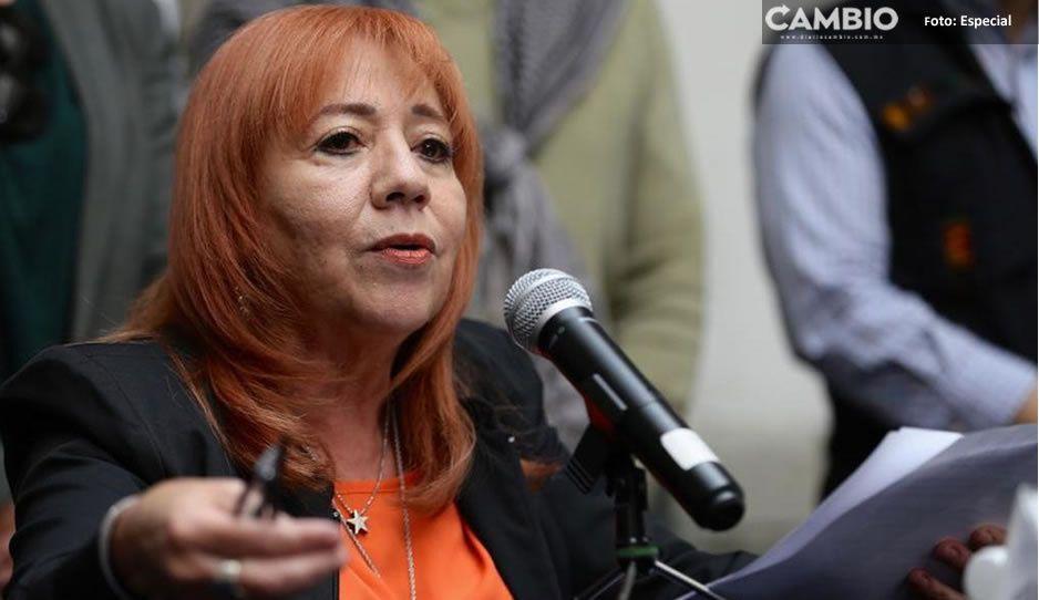 Presidenta de CNDH asegura ser víctima y niega comida gourmet en reuniones