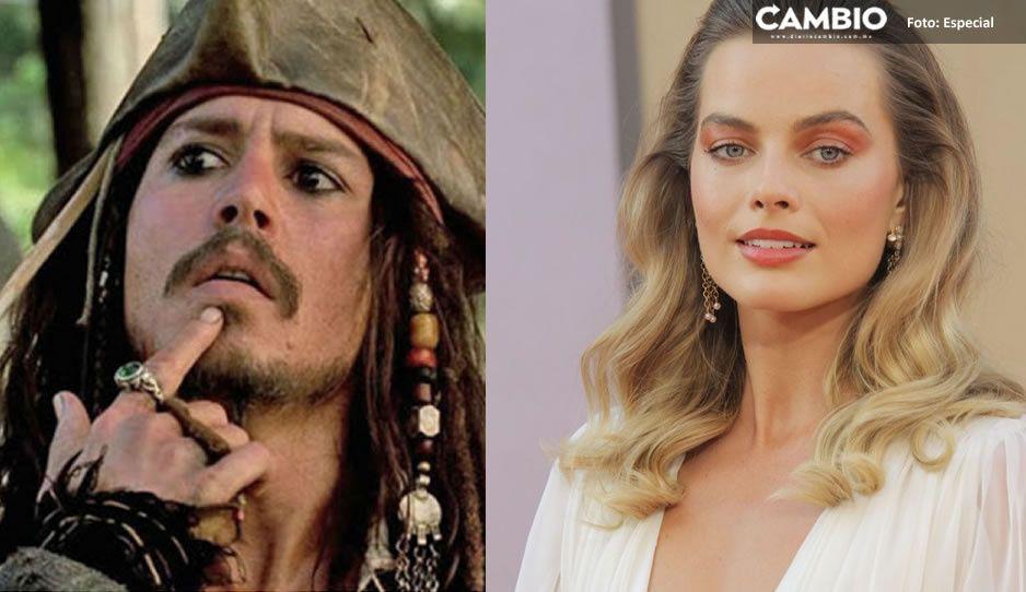 """¿Y Jack Sparrow? Margot Robbie protagonizará la nueva película de """"Piratas del Caribe"""""""