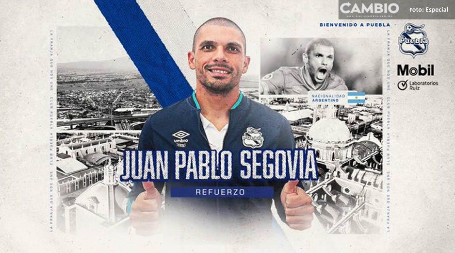 Juan Pablo Segovia se pone la camiseta de La Franja, es el sexto refuerzo