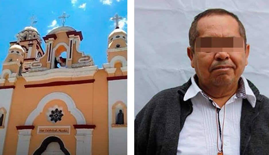Con repique de campanas y cohetes se despiden del padre Joaquín Fausto, víctima de Covid