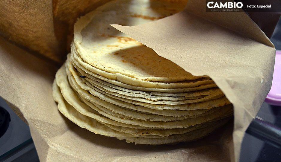 ¡Advierten a tortilleros poblanos! Si suben el precio de la tortilla pueden ir a la cárcel
