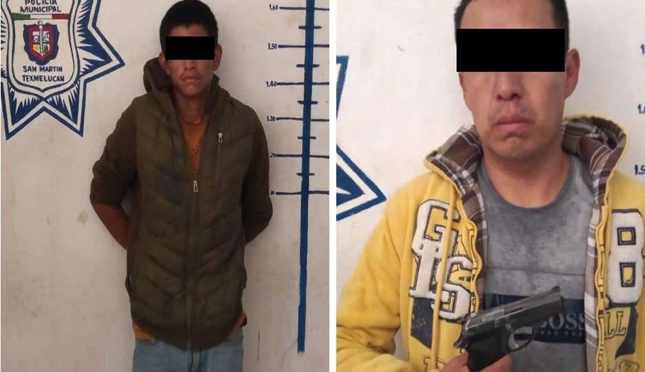 ¡Como de película! Tras persecución detiene a 5 narcomenudistas en Texmelucan