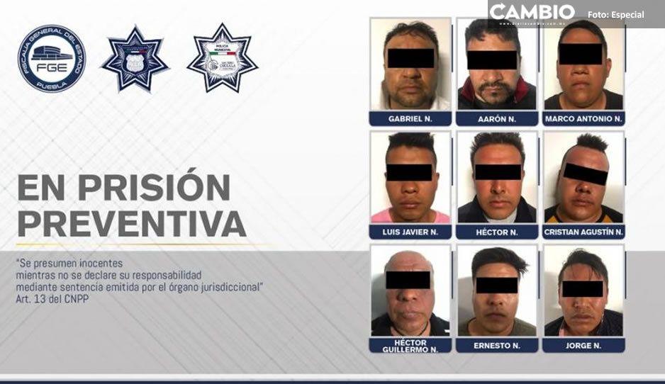 Desarticulan banda dedicada al robo de tiendas departamentales en San Pedro Cholula