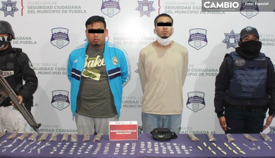Cae El Pichón presunto narcomenudista que operaba en San Baltazar Campeche