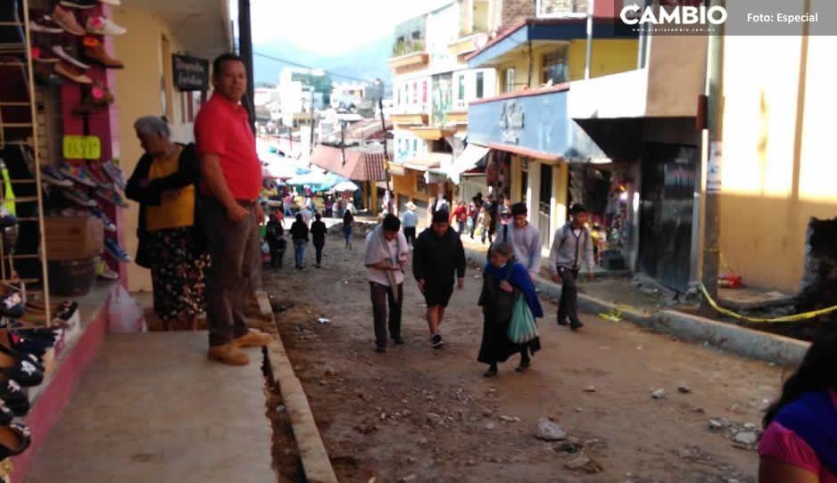 Extorsionadores piden cuota de 20 mil pesos a comerciantes de Huauchinango por su seguridad