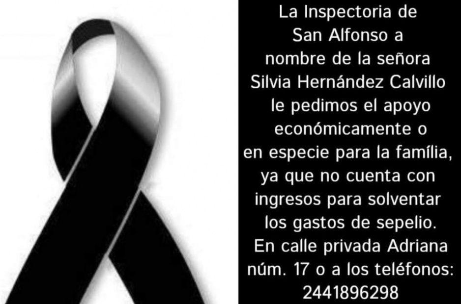 Familiares de ejecutado en Atlixco piden apoyo para el sepelio