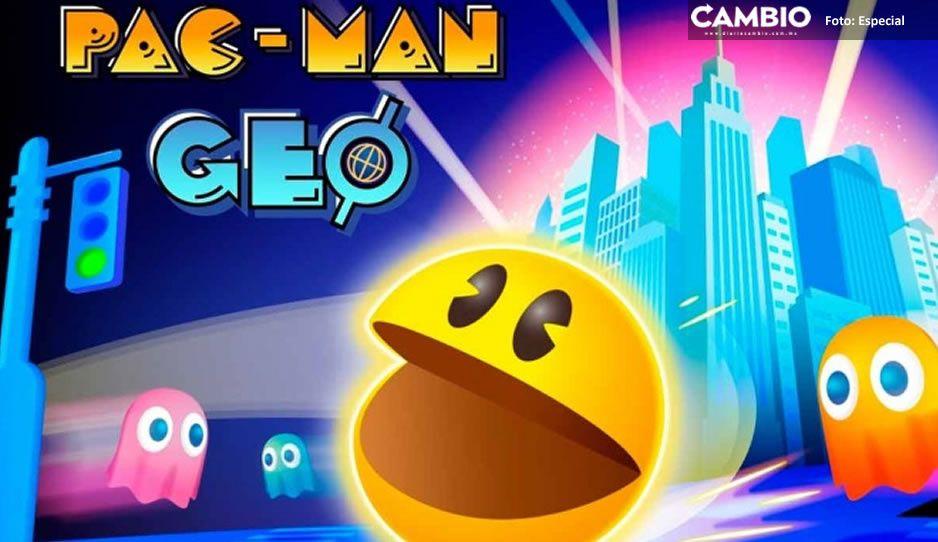 Lanzan Pac-Man Geo; una versión para jugar en el celular y con Google Maps