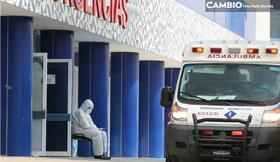 Sube la curva en Puebla: 184 contagios y más 800 casos activos