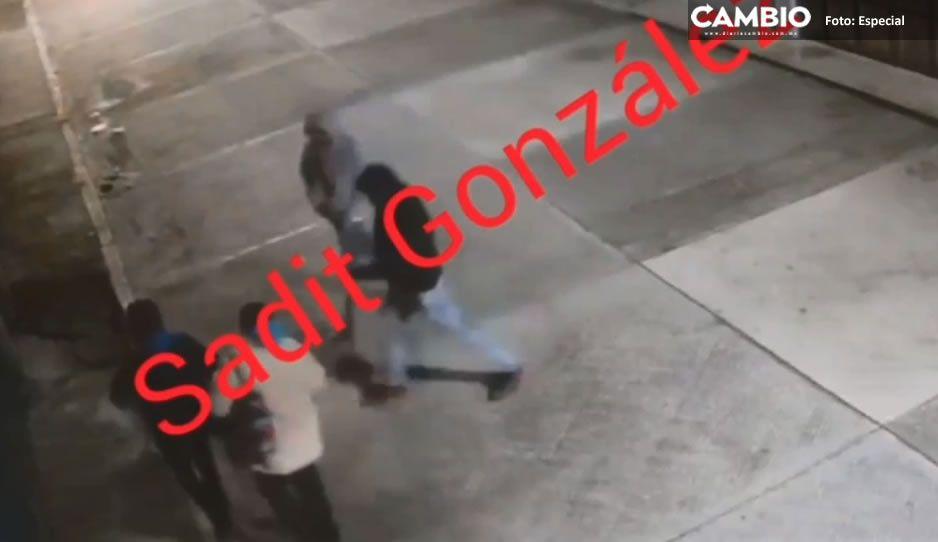 Así asaltan a dos mujeres en Chachapa (VIDEO)