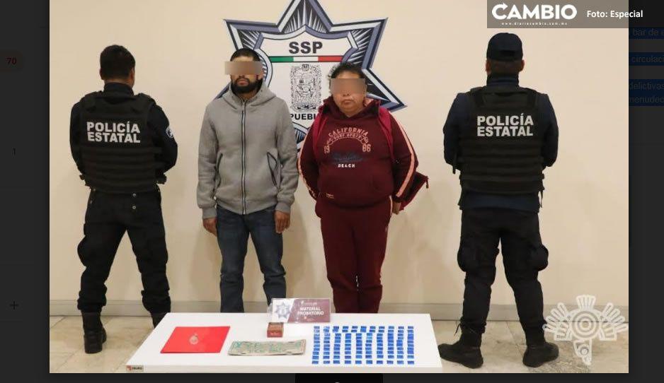 """Detienen a dos presuntos narcovendedores de la banda de """"El Moco"""" en Chignahuapan"""