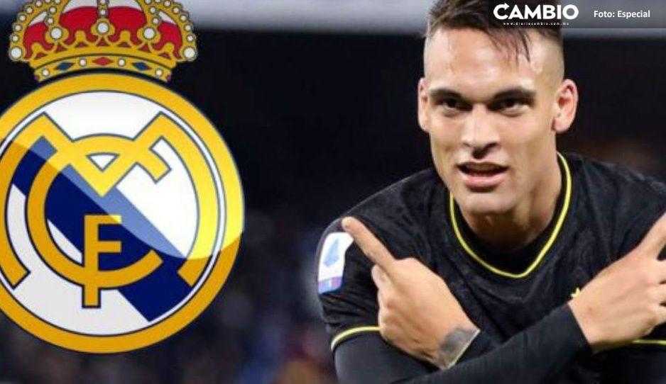 ¿Lautaro al Real Madrid? Aseguran hay un acuerdo por 2 mil 500 millones de pesos