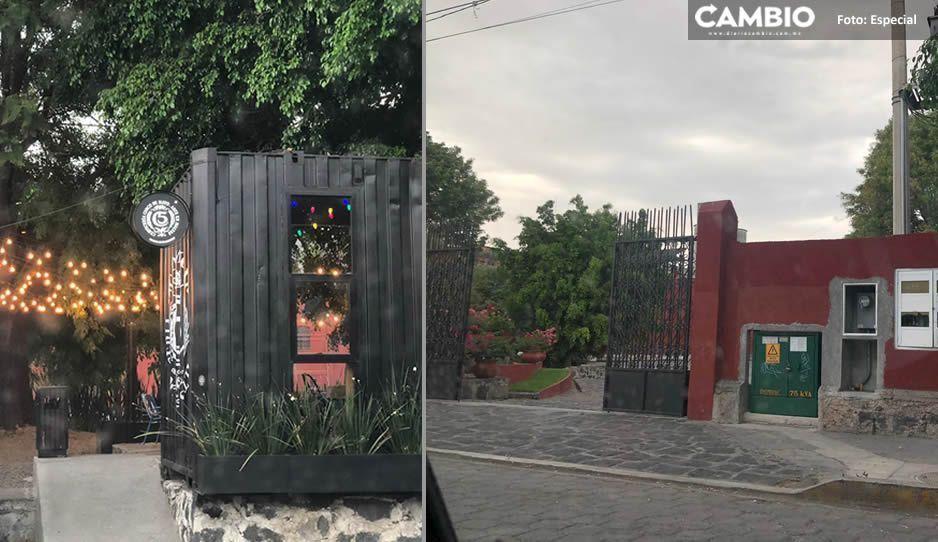 Santos Zanella viola la ley, sigue abriendo El Beer Garden en Atlixco