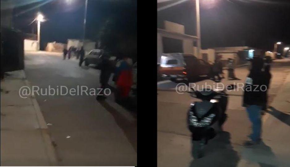 Pobladores se reúnen para buscar a adolescente desaparecido en San Miguel Espejo