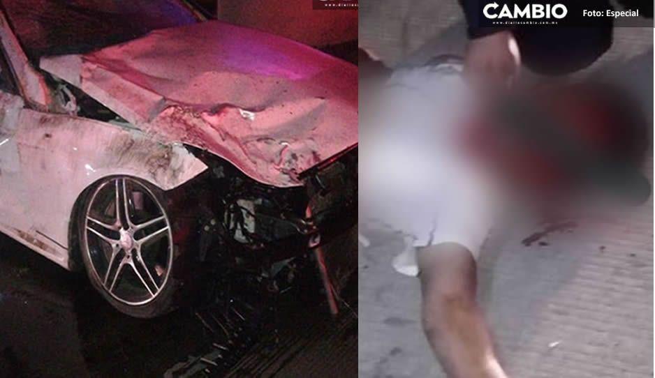Atropellado por briago de Mercedes, murió al salir de su primer día de trabajo