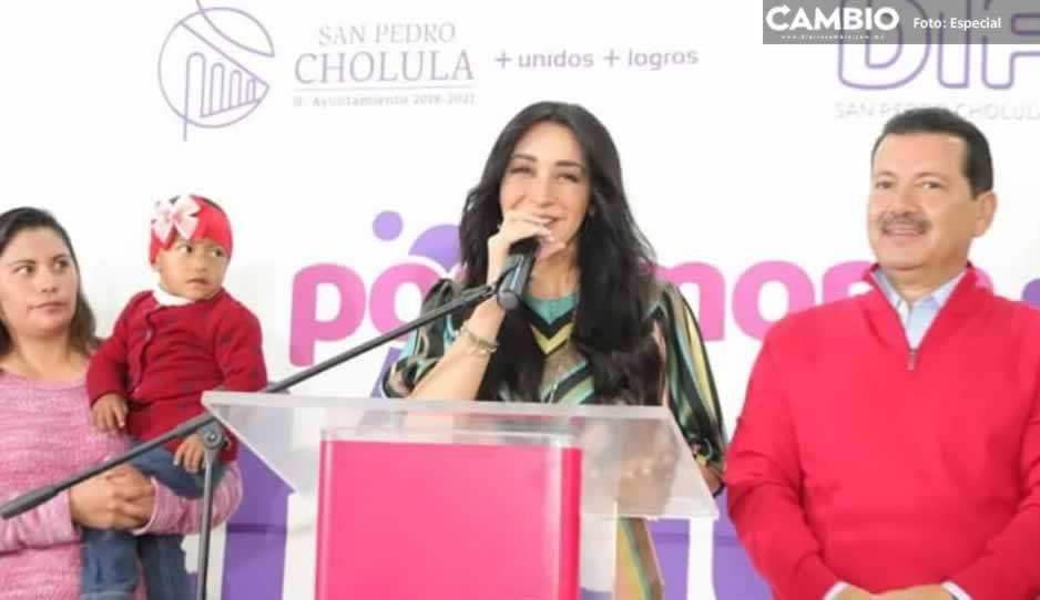 Presidenta del DIF municipal de San Pedro Cholula dará su Segundo Informe hasta noviembre