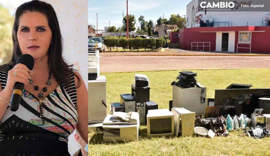 Gobierno de Texmelucan inicia campaña de recolección de electrodomésticos