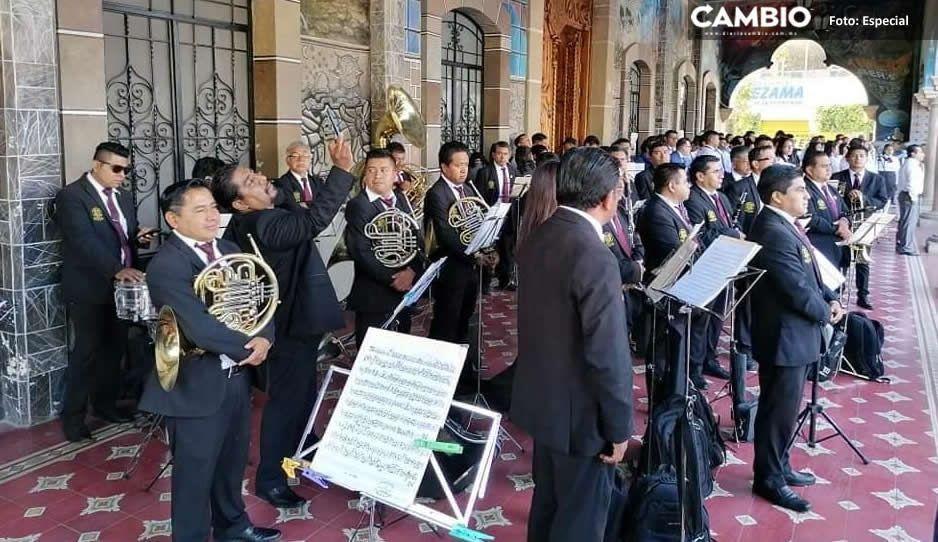 Otra víctima de covid, fallece músico de la Banda Municipal de Tehuacán