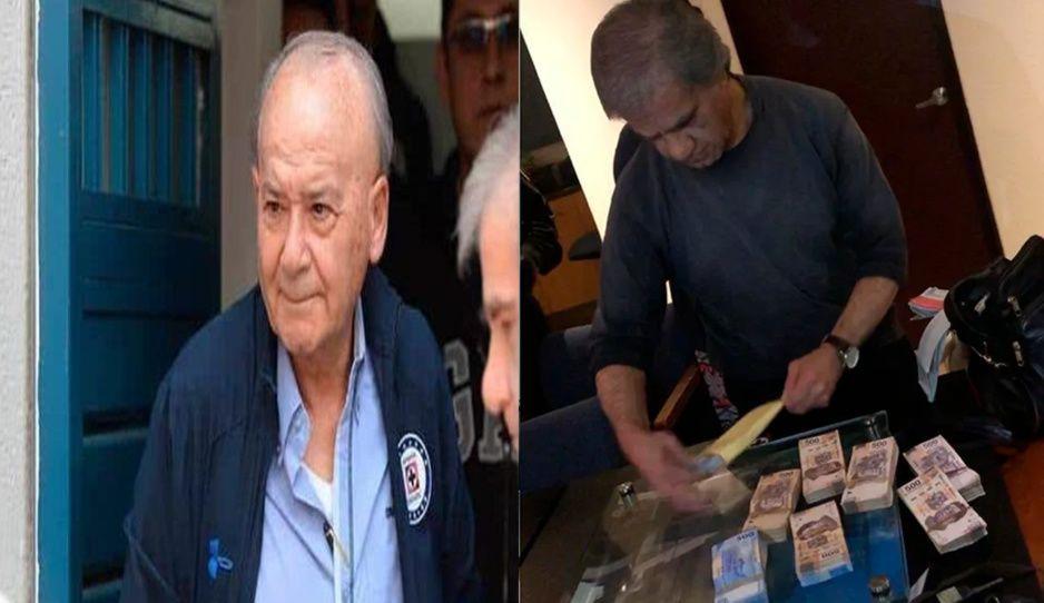 ¡Con las manos en la masa! Hallan a secretario de Billy Álvarez con bolsas de dinero y documentos para triturar