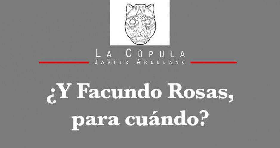 ¿Y Facundo Rosas, para cuándo?