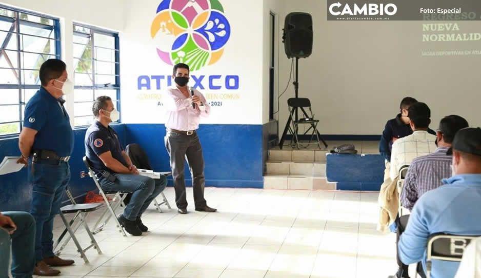 Ayuntamiento de Atlixco capacita a  deportistas para Nueva Normalidad