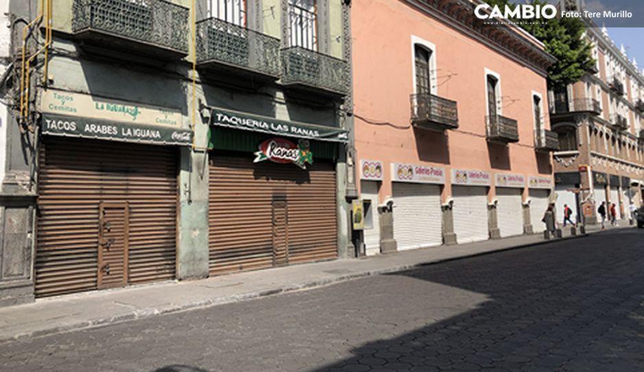 Efecto Covid: Quiebran 900 negocios del Centro Histórico