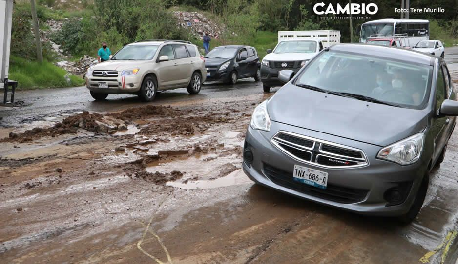 Reporta Segob afectaciones  en cinco municipios por lluvias