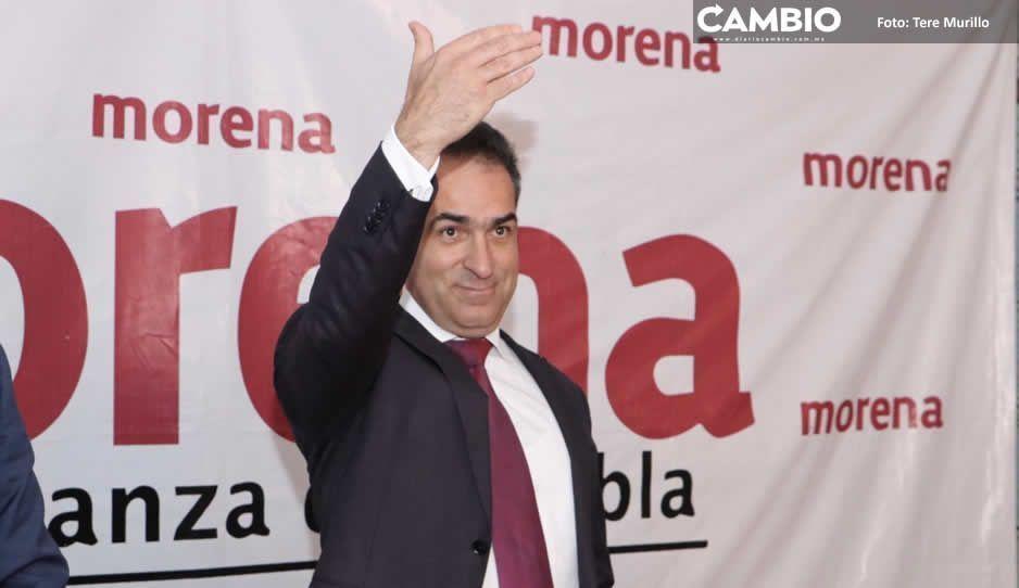 Bracamonte sigue emberrinchado y  aferrado a la dirigencia de Morena