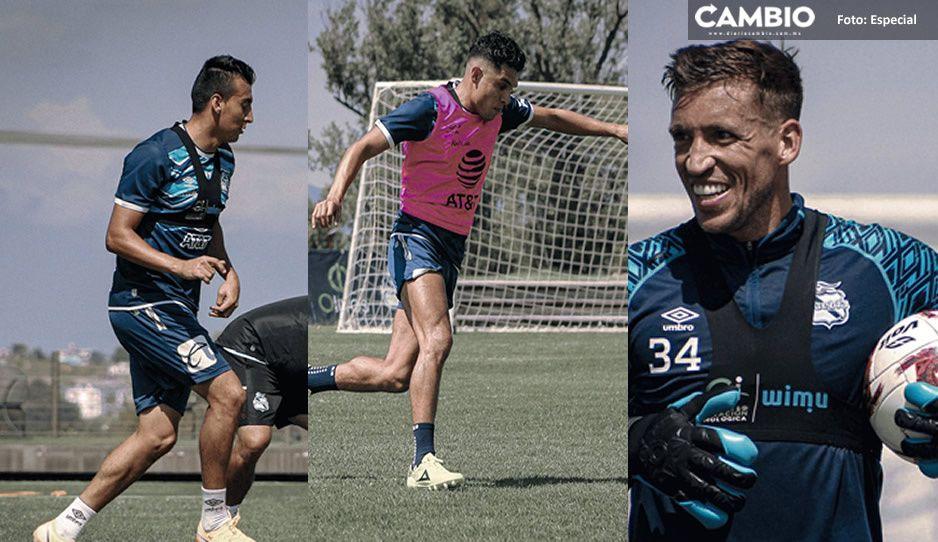 Tras recuperarse de Covid, regresan a entrenar tres jugadores del Puebla