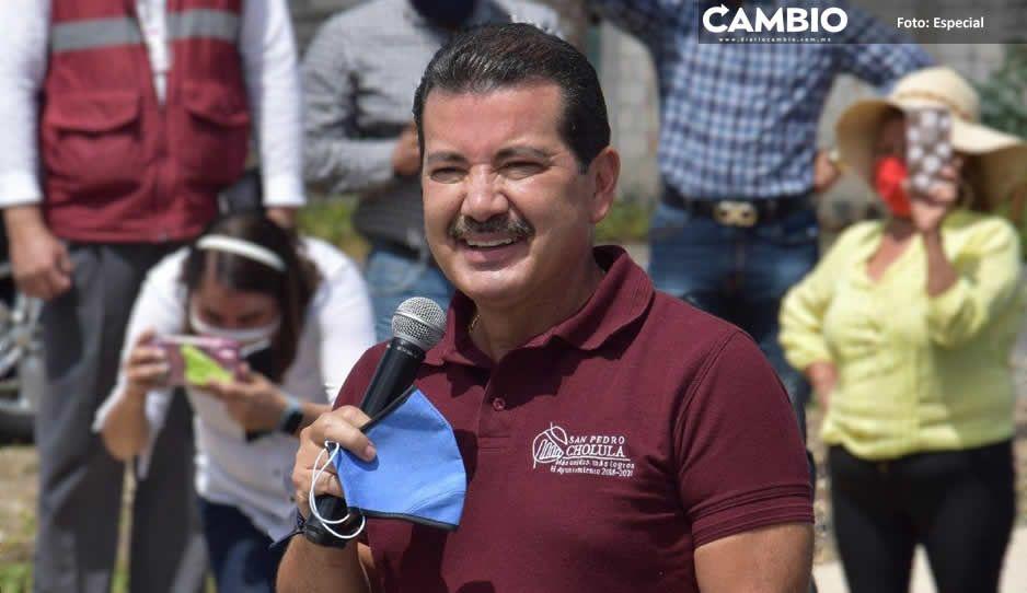Prioriza gobierno de San Pedro Cholula obra pública en sus juntas auxiliares