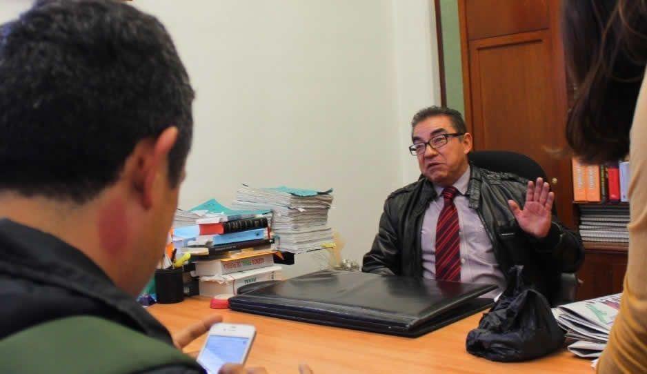 Judicatura separa del cargo a Alejandro León Flores, El Juez Sin Título