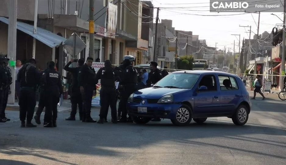 Policías y asaltantes se agarran a balazos en Tehuacán; detienen a dos presuntos delincuentes