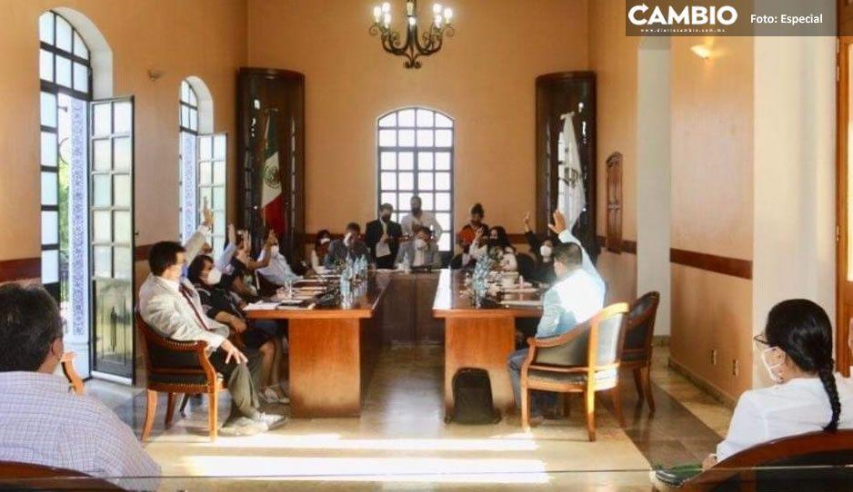 Exhiben corrupción en pleno del Cabildo en regiduría de Obras Públicas de Tehuacán