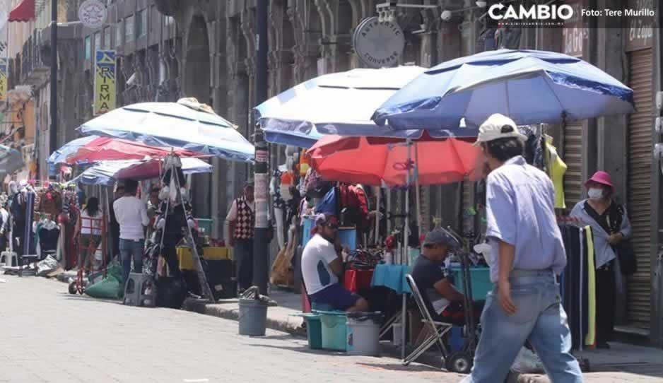 Puebla es la cuarta entidad del país con más ambulantes; hay 115 mil