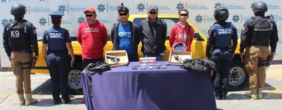 Así fue la detención de ratas que atracaron Coppel de Aquiles Serdán (VIDEO)