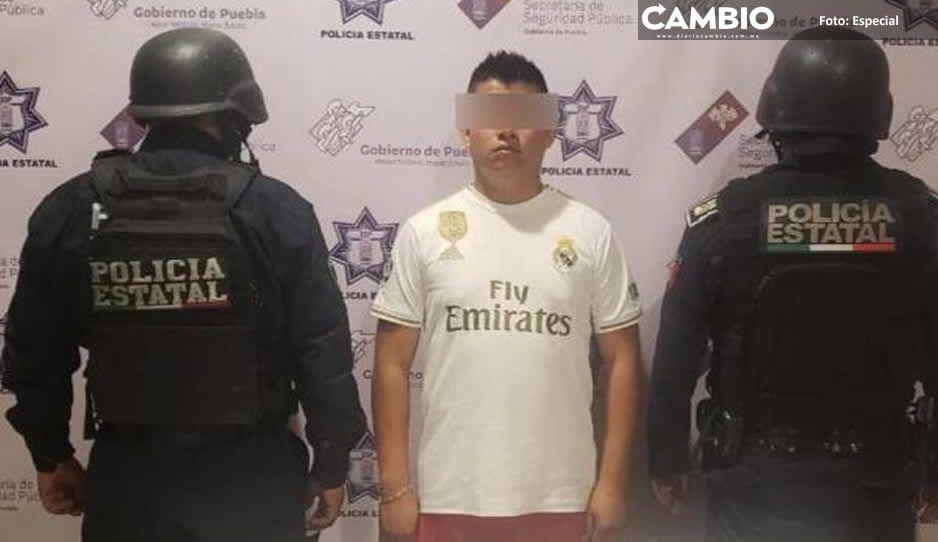 Detienen a  ex custodio  del penal de  Tehuacán