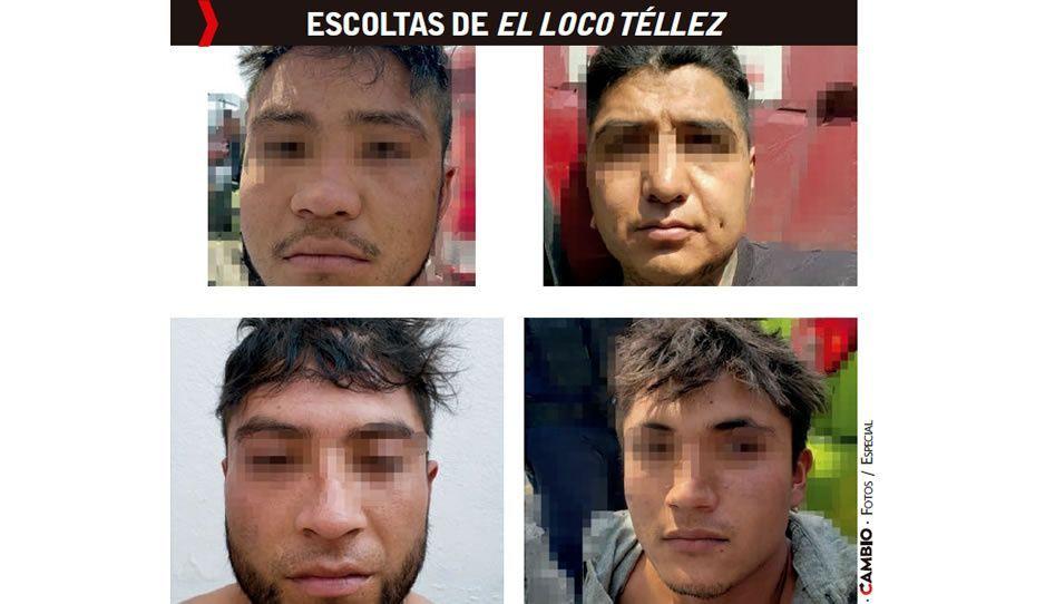 Detiene SSP a cuatro huachicoleros de la  banda de El Loco Téllez en Texmelucan