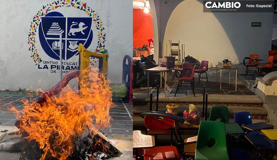 Colegio Pirámide de Cholula no cerró por pandemia; padres de familia temen estafa