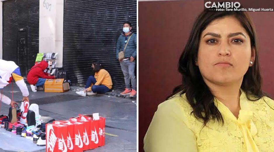 Claudia no pudo: sólo redujo 50% la presencia de informales en el Centro