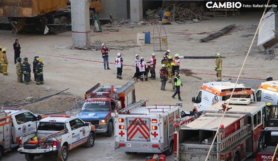 ¡Urgente! Heridos y muertos por derrumbe en Home Depot de Vía San Ángel (FOTOS Y VIDEO)