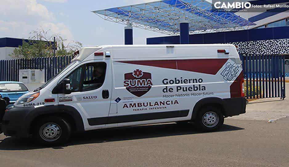 Tiempo de espera de ambulancias SUMA es de hasta 2 horas por coronavirus