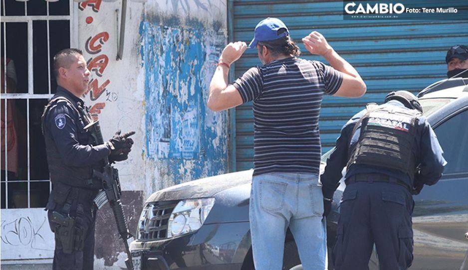 Decomisan drogas durante mega operativo en el Mercado Morelos; no hay detenidos