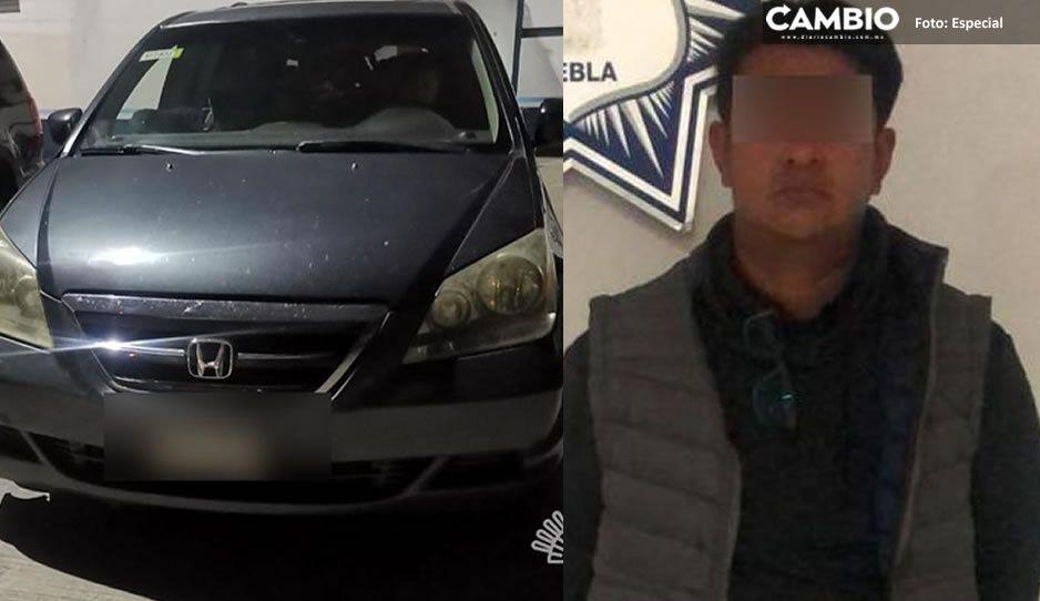 Detienen a presunto traficante de indocumentados en la México-Puebla