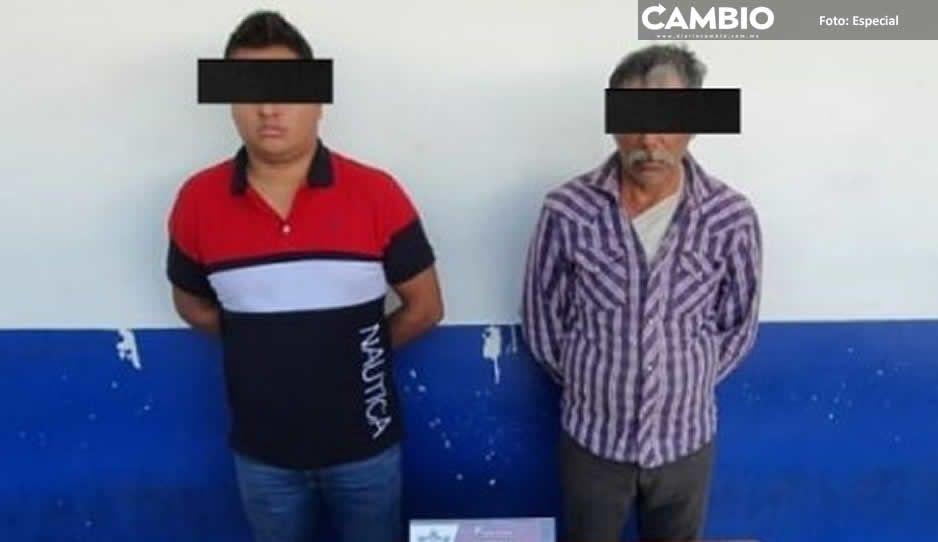 Cae El Yerno y Don Bonfi, integrantes  de la banda de El Moco en Chignahuapan