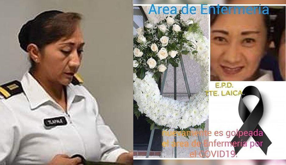 COVID le quita la vida a Laica Tlapale, enfermera del Hospital Militar Puebla tras 19 días de lucha