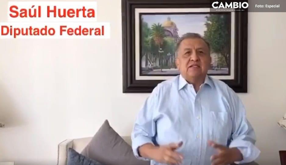 VIDEO: Saúl Huerta envía mensaje a Barbosa en su primer aniversario como gobernador