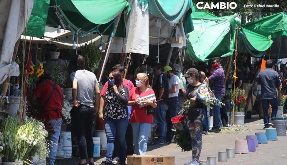 Floristas lucran con el COVID-19,  venden arreglos hasta en 600 pesos
