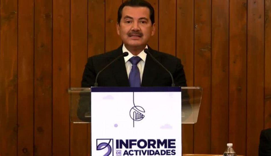 Arriaga realiza su Segundo Informe de Gobierno: hemos trabajado con todo